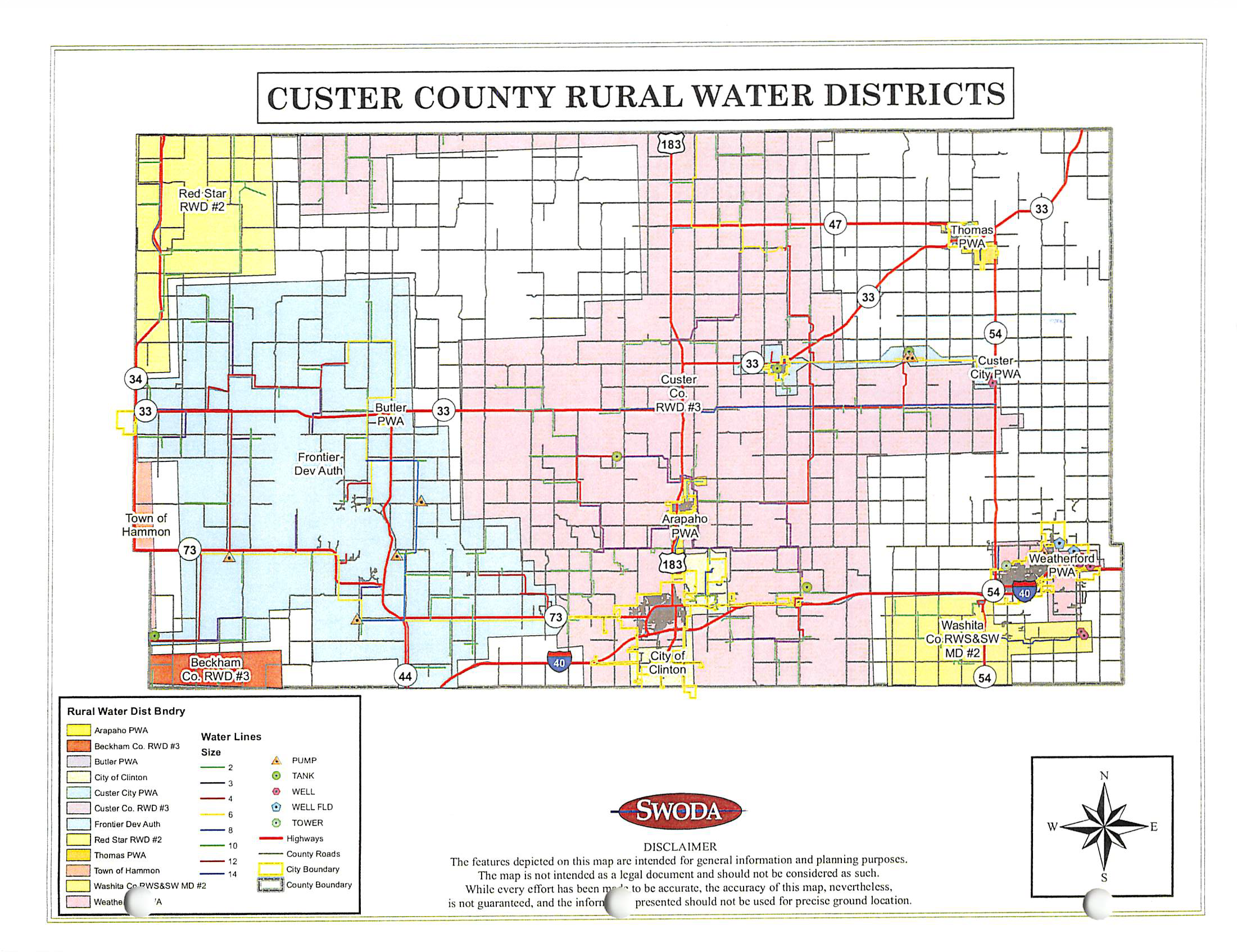 Custer County Rural Water Districts