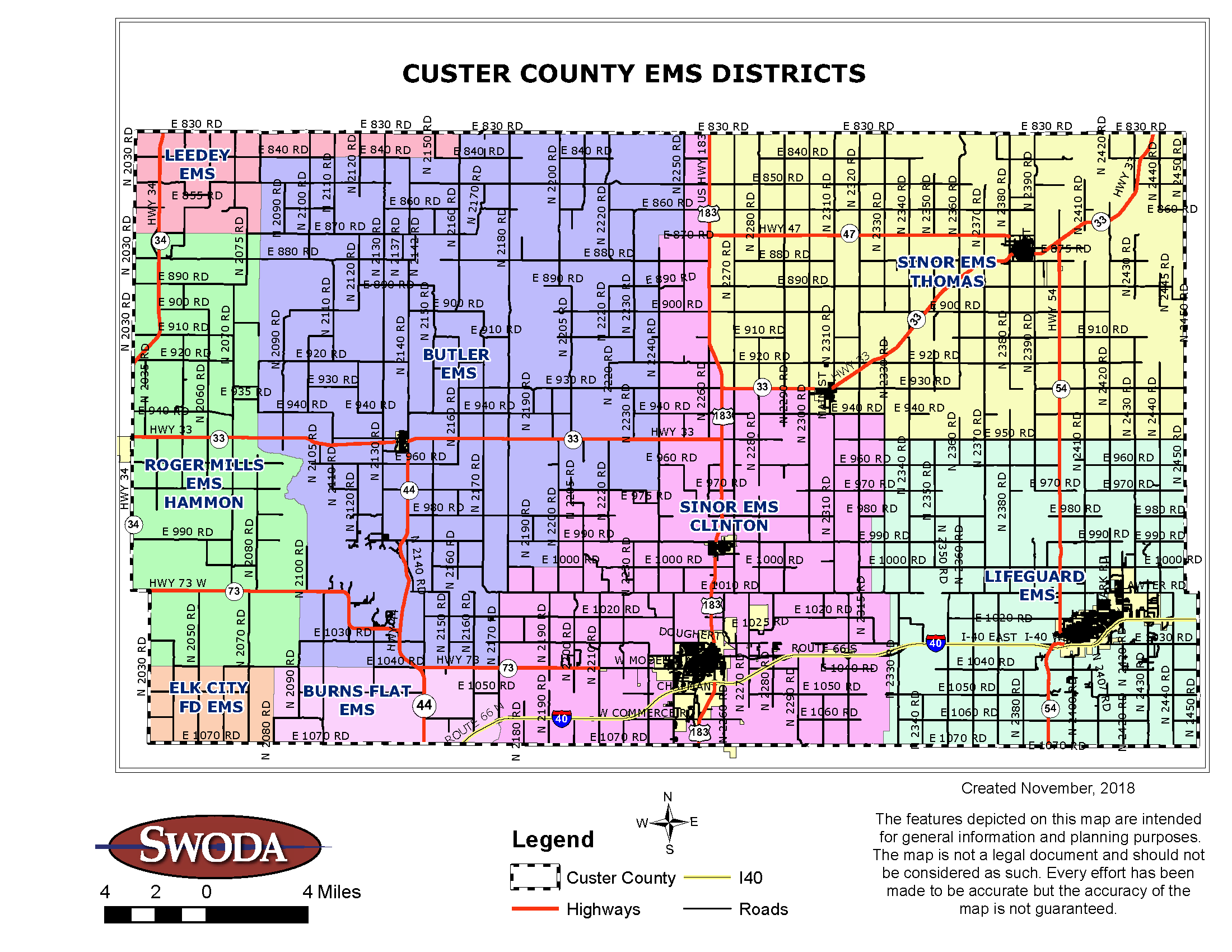 Custer County Emergency Medical Services Districts
